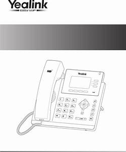 Yealink T40p Ip Phone User Manual