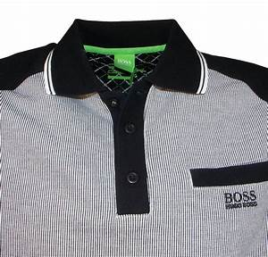 eb2ef61a hugo boss green label black paulson polo shirt polo shirts from  designerwear2u uk