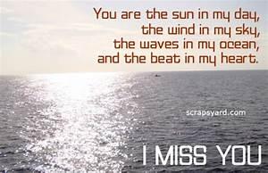 I Miss You Poem | ScrapsYard.com