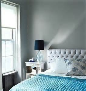 blue silver bedroom