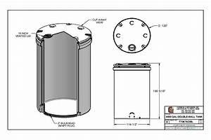 Cci 6000 Gallon Double Wall Storage Tank 120 Quot D X 191 Quot H