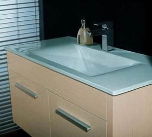 Petit Meuble Lavabo : le meuble lavabo conseil decoration ~ Teatrodelosmanantiales.com Idées de Décoration