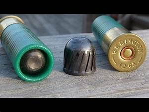 Remington 12 Ga 3 Quot Magnum Slug Gel Test Youtube