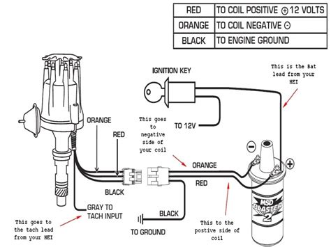 chevy distributor wiring diagram wiring forums