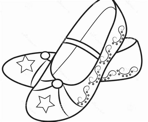 loafers coloring pages sketch coloring page