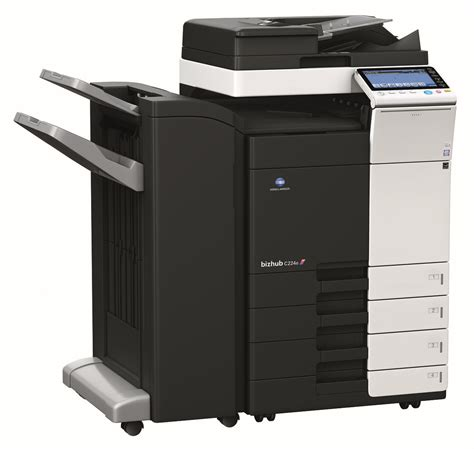 The reason we need to change the workgroup in print settings is because the konica/minolta does not support us entering in the user name like netbiosname\username, or in. Konica Minolta Bizhub C224e Colour Copier/Printer/Scanner