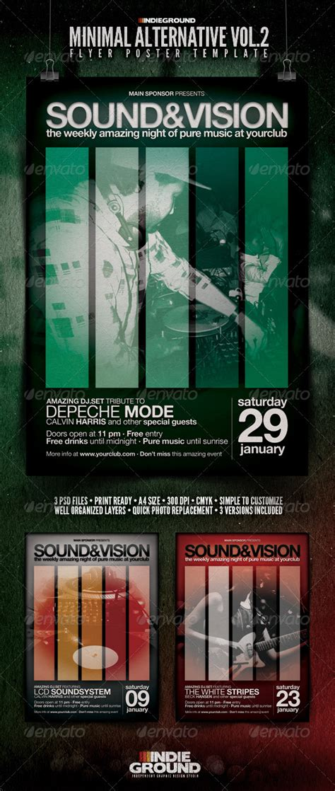 Electro Flyer Poster Template Vol 4 Torrent by Indieground Futuristic Vol 4 Free Torrent 187 Tinkytyler Org