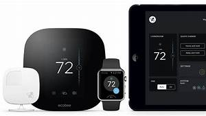 Ecobee Smart Thermostats W   Homekit From  120  Led Light