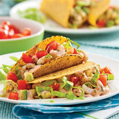 cuisine crevette tacos aux crevettes recettes cuisine et nutrition pratico pratique