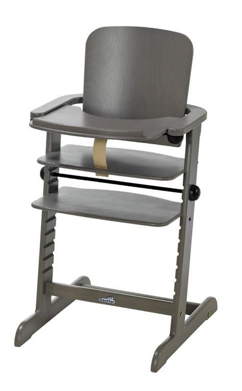 chaise haute sans tablette chaise haute évolutive bébé family avec tablette repas