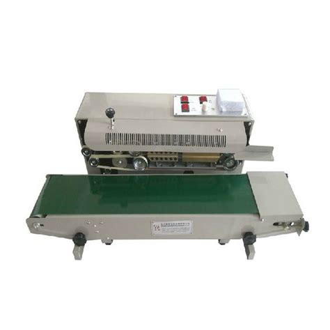 fr automatic horizontal continuous plastic bag band sealer sealing machine  ebay
