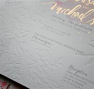 a peek into the studio rose gold foil and blind With rose gold foil wedding invitations australia