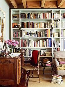 Inspiring, Home, Library, Design, And, Decorations, 26