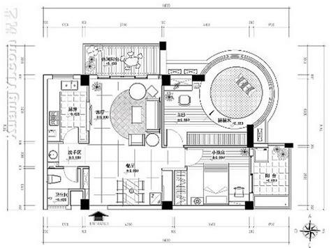 home design cad 平面图 室内设计cad平面图 51