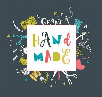 Crafts Fair Handmade Craft Vector Workshop Poster