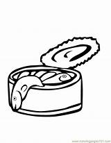 Coloring Fish Sardines Meat Pages Sardine Surfer Silver Clipart Clip Coloringpages101 Designlooter Pdf Library Popular 74kb 792px sketch template