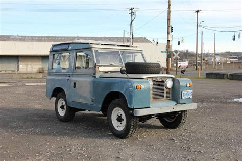 1967 Land Rover Series Iia 2a 88