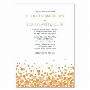 confetti modern wedding invite the green kangaroo With ultra modern wedding invitations