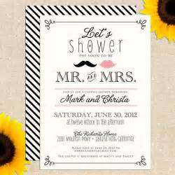 Free Printable Couples Wedding Shower Invitations