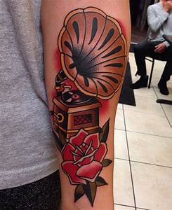 cool Phonograph done by Jonathan Montalvo at Everlasting ...