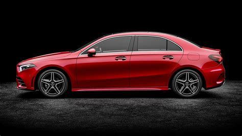 mercedes benz a class sedan to replace cla class take on