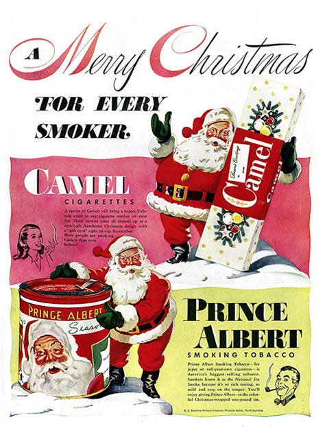 vintage christmas advertising youll