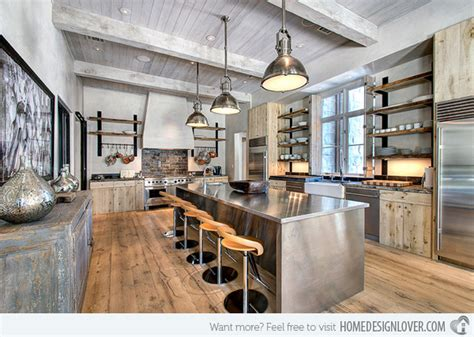 15 Outstanding Industrial Kitchens  Decoration For House