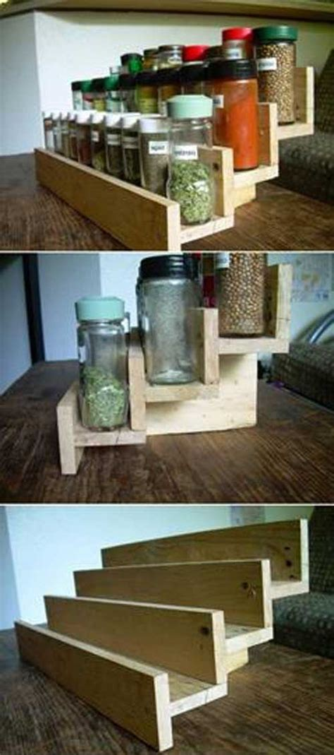 cool  easy diy pallets ideas   kitchen