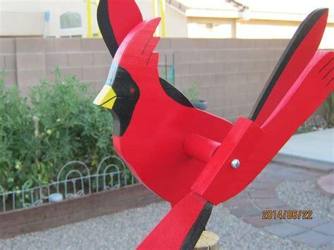 cardinal whirligig whirlygig windmill craft wind