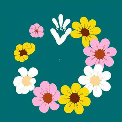 Spring Flower Animation March Gifts Animated Bom