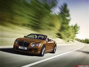 Bentley Continental Gt Speed : official 2015 bentley continental gt speed gtspirit ~ Gottalentnigeria.com Avis de Voitures