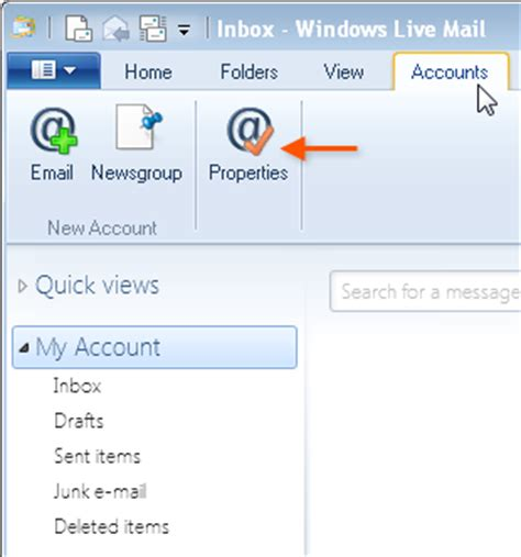 setting up windows live mail with smtp2go