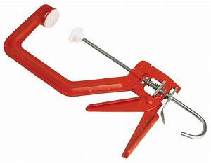 Cox Solo G Clamp - With Plastic Pads - Bedford Saw & Tool