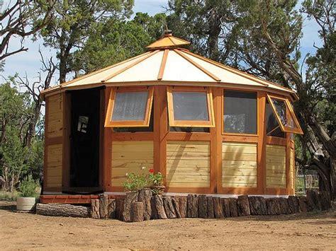 wooden yurt isaac murphy  owner  turtleback nomadic