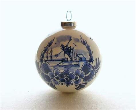 95 best images about christmas ornaments delft blue and