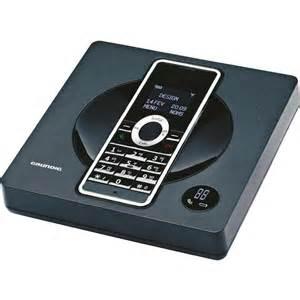 schnurloses design telefon grundig scenos a schnurloses analog design telefon anrufbeantworter beleuchtet ebay