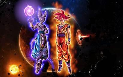 Goku Beerus Background Wallpapers Dragon Ball Ui
