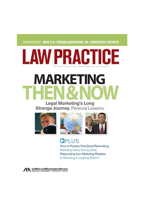 Marketing Firm by Practice Magazine Quot History Of Firm Marketing Quot Article