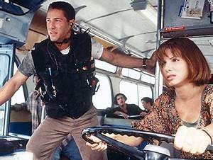 Keanu Reeves and Sandra Bullock in Speed | Alec Nevala-Lee