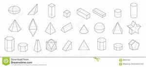 Geometrische Formen Berechnen : satz grundlegende geometrische formen 3d geometrischer k rpervektor auf einem wei en hintergrund ~ Themetempest.com Abrechnung
