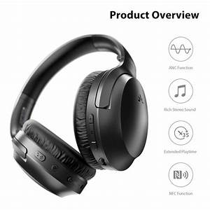 2020  Avantree Aria Bluetooth Active Noise Cancelling