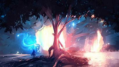 Digital Landscape Wallpapers Desktop Painting Ryky Deviantart