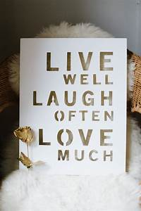 Live Laugh Often Love Much : live well love quotes quotesgram ~ Markanthonyermac.com Haus und Dekorationen