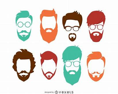 Hipster Vector Vexels Hairstyle Vectors 29k Ai