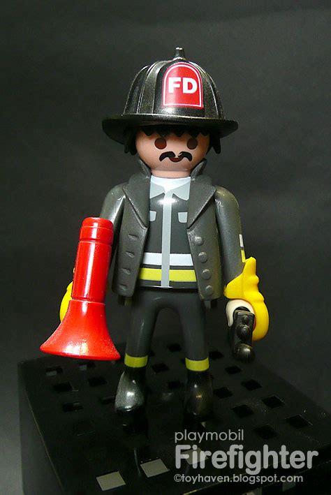 playmobil firefighters fire firefighter fdny gear turnout extinguisher walkie talkie radio firefighting gloves toyhaven