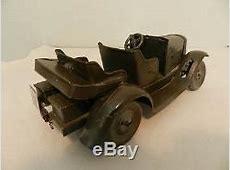 Vintage 1930's Tippco German Staff Car Tin Antique Tipp