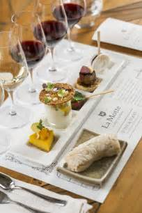 cuisine of louisiana food and wine tasting food and wine pairing la motte