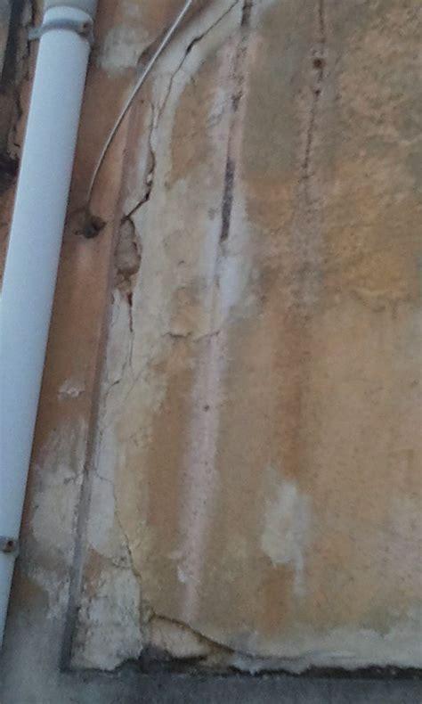 fissures dans le mur ext 233 rieur 9 messages
