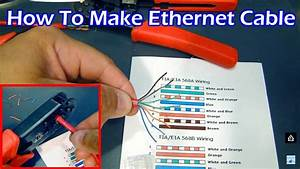 How To Make Cat5 Ethernet Cable