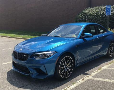 bmw  competition  long beach blue  delivered
